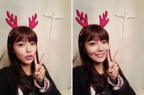 sooyoung-xmas-selca-1