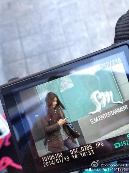 Photos-SooYoung-at-SM-Building-2014.01.14